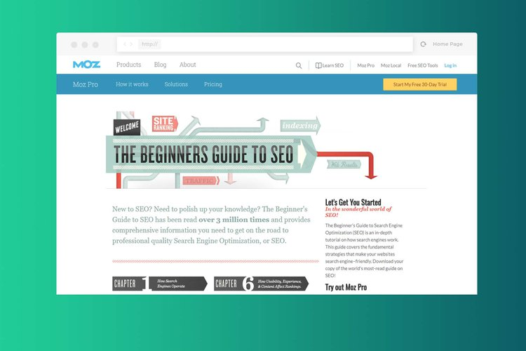 Beginners guide to seo moz