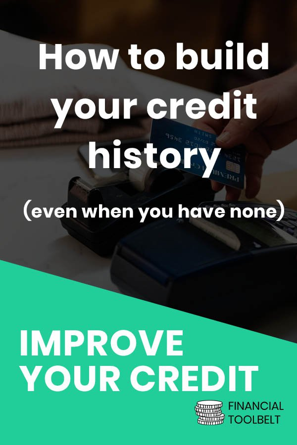 Build credit history pinterest