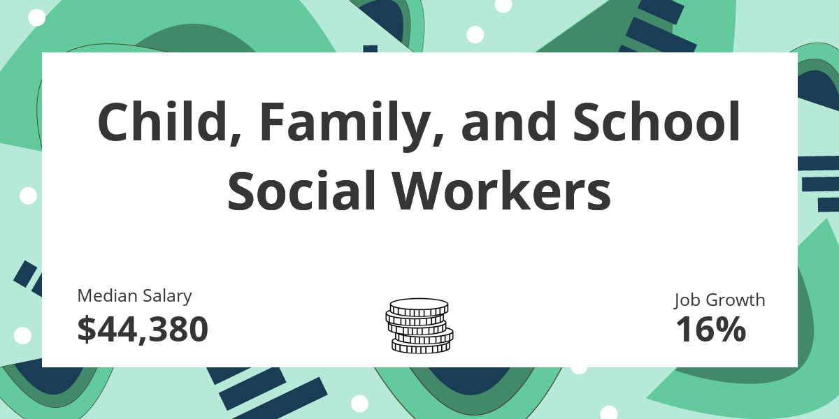 child  family  and school social workers  salary