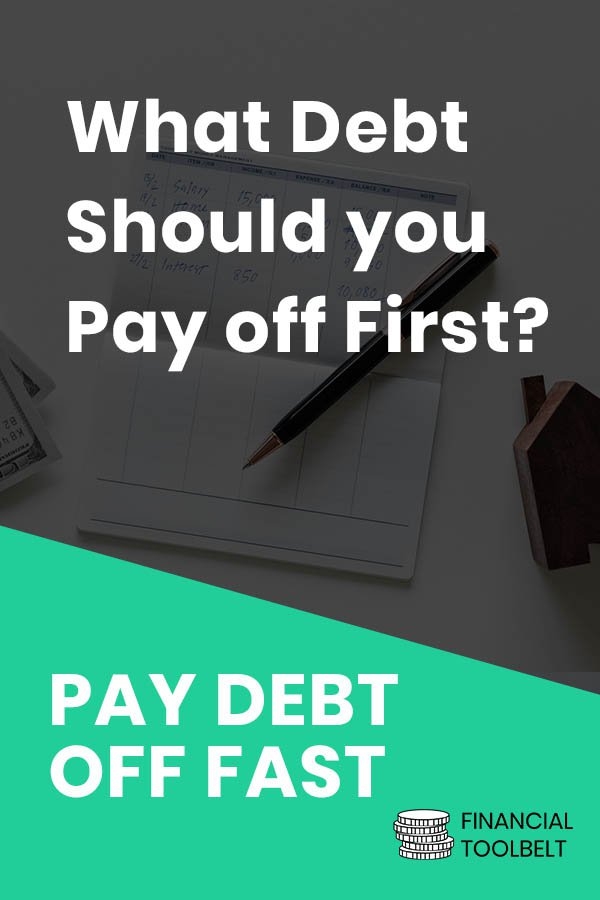 debt first pinterest