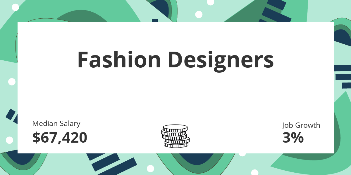 Fashion Designers Salary Education And Job Growth Financial Toolbelt
