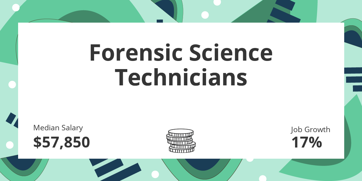 Forensic Science Technicians Salary Education And Job Growth Financial Toolbelt