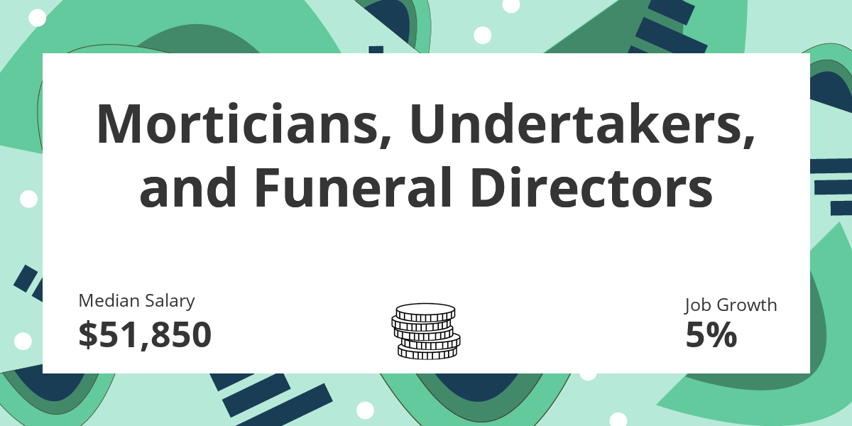 Morticians Undertakers And Funeral Directors Salary Education Job Growth